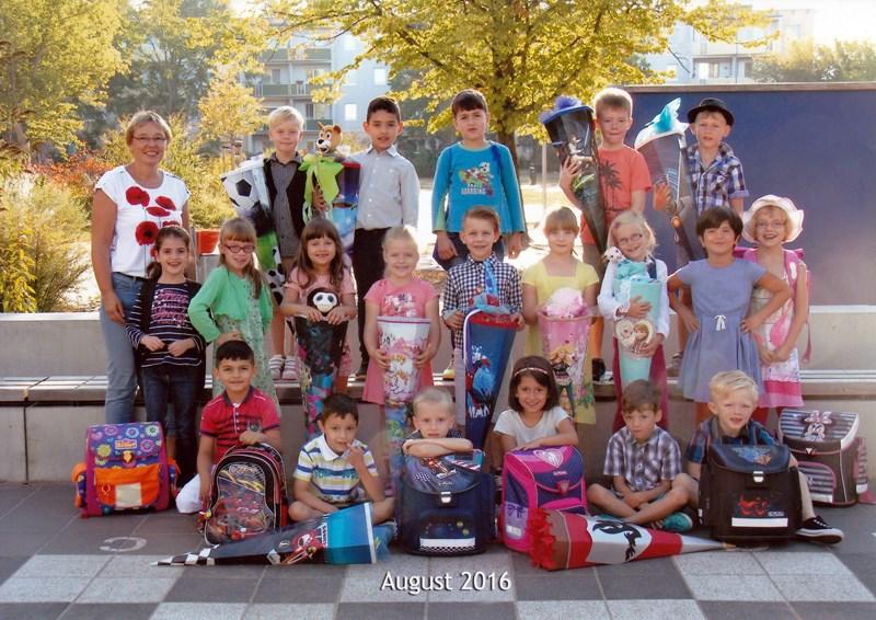 Unsere Klasse 1a mit Frau Böhm