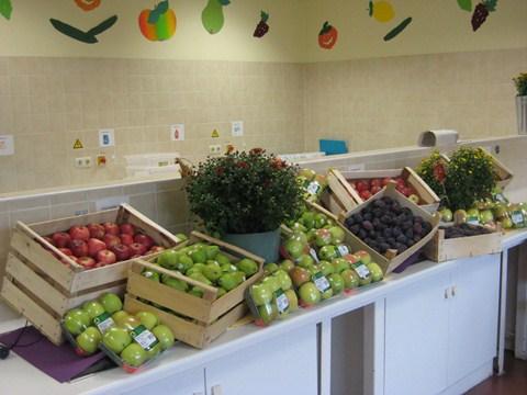 Gesundes Obst für unsere Schülerinnen und Schüler