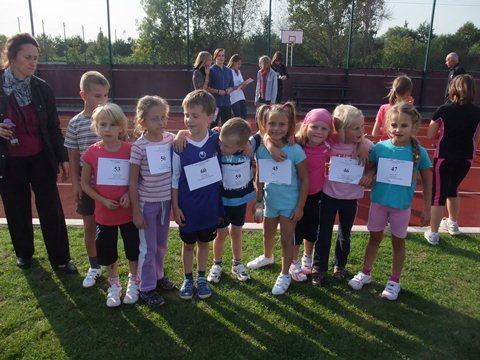 Teilnehmer aus den Klassen 1 und 2