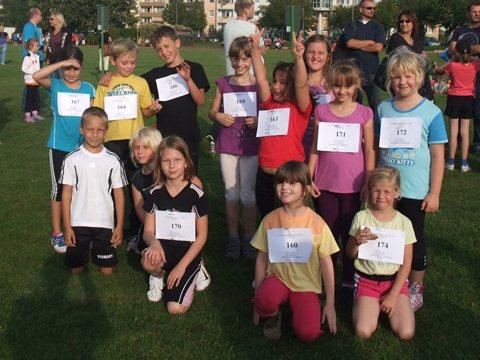 Teilnehmer aus den Klassen 2 und 3