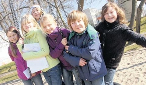 Schulkinder der GS Kannenstieg. Foto: R. Richter