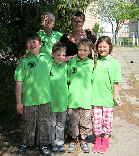 Teilnehmer der Deutschen Schulschach-Meisterschaften 2012