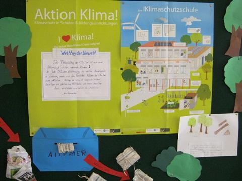 Altpapieraktion am Tag der Umwelt