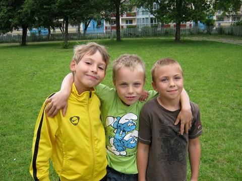 Die erfolgreichsten Vierkämpfer der Klassenstufe 1