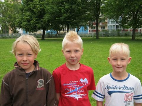 Die erfolgreichsten Vierkämpfer der Klassenstufe 2