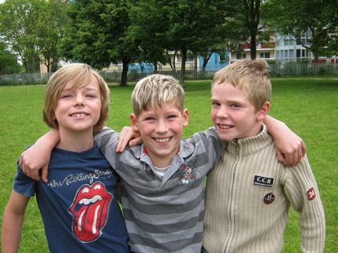 Die erfolgreichsten Vierkämpfer der Klassenstufe 3