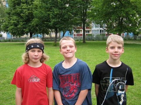 Die erfolgreichsten Vierkämpfer der Klassenstufe 4