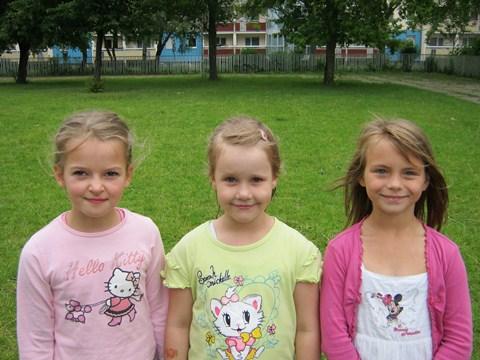 Die erfolgreichsten Vierkämpferinnen der Klassenstufe 1
