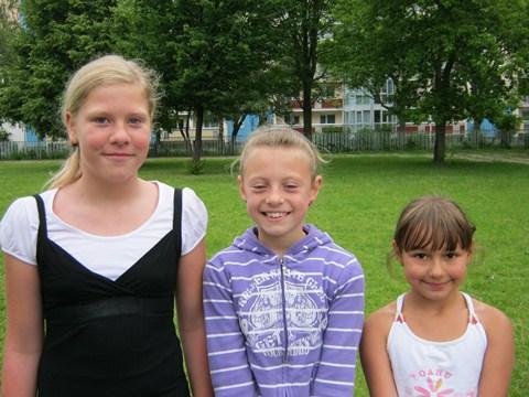 Die erfolgreichsten Vierkämpferinnen der Klassenstufe 2