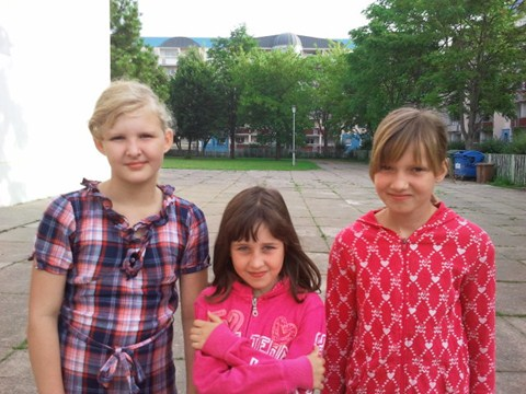 Die erfolgreichsten Vierkämpferinnen der Klassenstufe 3