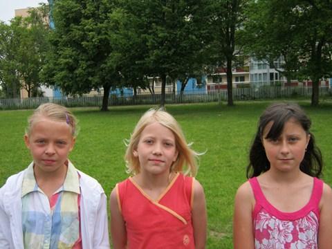 Die erfolgreichsten Vierkämpferinnen der Klassenstufe 4