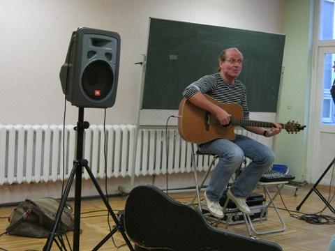 Liedermacher Jürgen Denkewitz