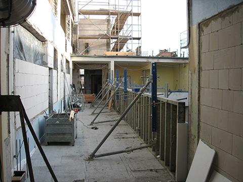 Laubengang 2. Etage