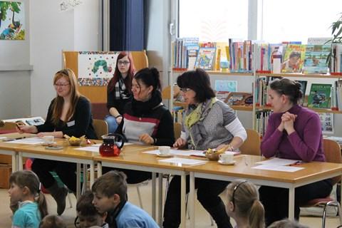 Die Jury des Lesekönigwettbewerbs