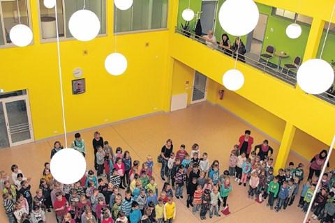 """Atrium der Grundschule """"Am Kannenstieg"""""""