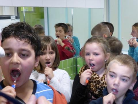 Alle Kinder putzen gründlich (2)