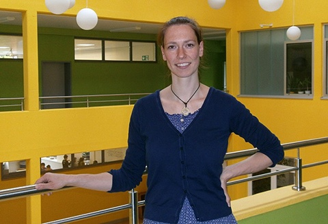 Schulsozialarbeiterin Luise Pillinger
