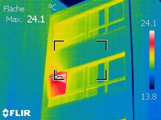 Wärmebild: Ein offenes Fenster… (1)