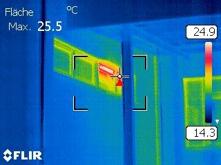 Wärmebild: Ein offenes Fenster... (2)