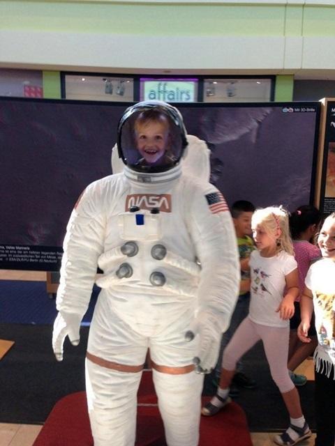 Auf dem Weg ins Weltall: Megan Herbst