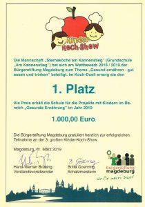 Urkunde-Kinder-Koch-Show-Buergerstifting