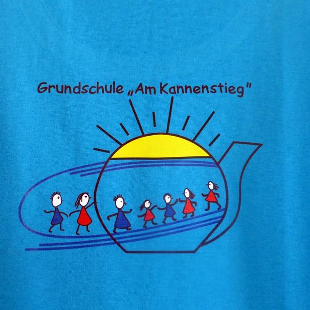 """Schul-Shirt der Grundschule """"Am Kannenstieg"""""""